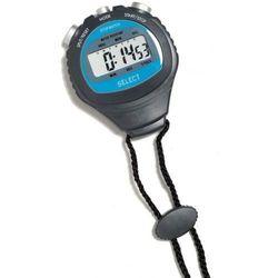 Stoper sportowy Select Stop Watch czarno-niebieski