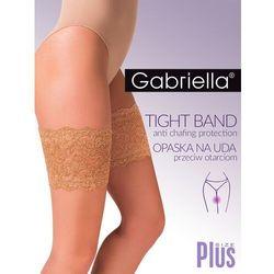 Opaska na uda gabriella code 509 rozmiar: 7/8, kolor: beżowy/beige, gabriella