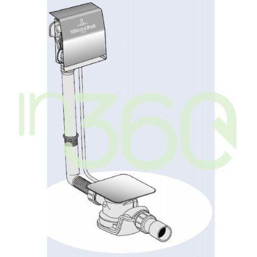 Złączki i mufy hydrauliczne, Villeroy & Boch, Przyłącze wody, zintegrowane z przelewem UPCON0123