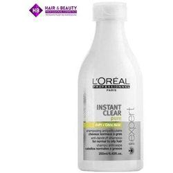 LOREAL Expert Instant Clear Pure szampon do wosów tustych i normalnych 250 ml zielony
