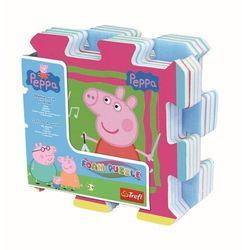 Układanka-puzzlopianka - Świnka Peppa TREFL
