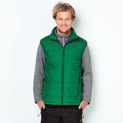 Zestaw 3w1 kurtka polarowa + kamizelka CARIBOU GLEN MEN forest green
