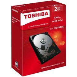 Dysk Toshiba P300 2TB 7200RPM 64MB HDWD120UZSVA
