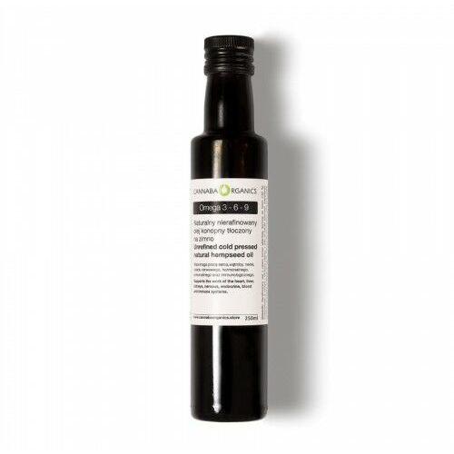 Zioła lecznicze, Olej z nasion konopi włóknistej (Omega 3-6-9)