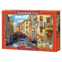 Puzzle, Puzzle 1000 Reflections of Venice - Castor OD 24,99zł DARMOWA DOSTAWA KIOSK RUCHU