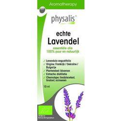 OLEJEK ETERYCZNY ECHTE LAVENDEL (LAWENDA WĄSKOLISTNA) BIO 10 ml - PHYSALIS