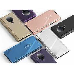 Clear View Case futerał etui z klapką Xiaomi Redmi K30 Pro / Poco F2 Pro niebieski - Niebieski
