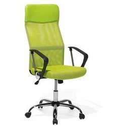 Krzesło biurowe regulowane zielone DESIGN