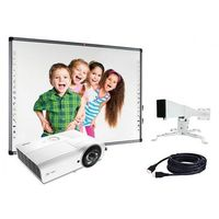 Tablice interaktywne, ZESTAW: AVTek TT-Board 90 PRO + Vivitek DW282-ST + uchwyt