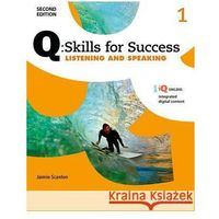 Pamiętniki, dzienniki, listy, Q Skills for Success: Level 1: Listening & Speaking Student Book with IQ Online