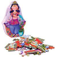Puzzle, Djeco, Marzenia Salomei, DJ07233, puzzle tekturowe