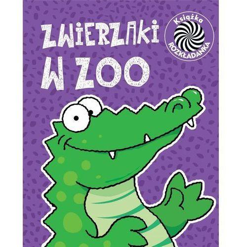 Książki dla dzieci, Zwierzaki w ZOO Ruchome obrazki - Praca zbiorowa (opr. twarda)