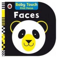 Książki do nauki języka, Baby Touch First Focus: Faces (opr. twarda)
