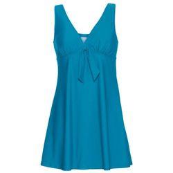 Sukienka kąpielowa bonprix niebieskozielony morski