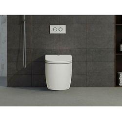 Inteligentna, stojąca miska WC GENTA – kolor biały