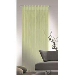 Albani Firana sznurkowa Cord zielony, 90 x 245 cm