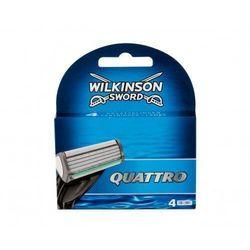 Wilkinson Sword Quattro wkład do maszynki 4 szt dla mężczyzn