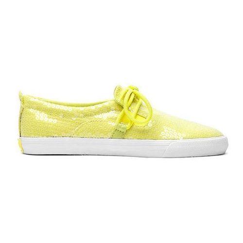 Damskie obuwie sportowe, buty SUPRA - Belay Neon Yellow/White (YEL) rozmiar: 42