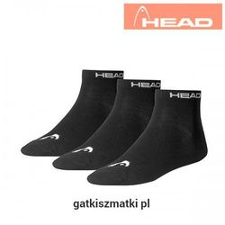 Skarpety HEAD Quarter czarne