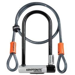 Zapięcie rowerowe KRYPTOLOK STD+ linka KRYPTOFLEX 10mm/120 z uchwytem