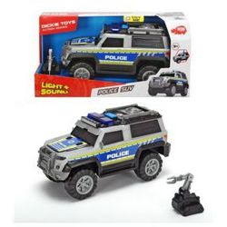 Auto Policja SUV srebrny 30 cm. Darmowy odbiór w niemal 100 księgarniach!