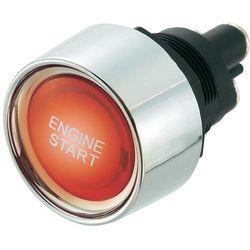 Przycisk zapłonu 24 V/DC 25 A SCI A2-23B-07, podświetlenie LED, czerwone 24 V/DC 25 A