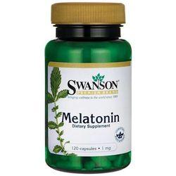 Swanson Melatonina - 1000mcg (1mg) - (120 kap)