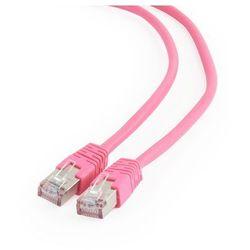 Patch cord kat.6 FTP 3M różowy Gembird