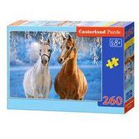 Puzzle, Puzzle 260 el.: The Winter Horses / B-27378. Darmowy odbiór w niemal 100 księgarniach!