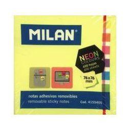 Karteczki samoprzylepne Neon mix kostka 400 sztuk. Darmowy odbiór w niemal 100 księgarniach!