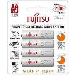 4 x akumulatorki Fujitsu R6/AA 2000mAh HR-3UTCEX
