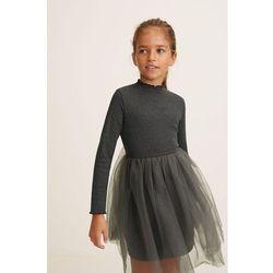 Mango Kids - Sukienka dziecięca Boston 110-152 cm
