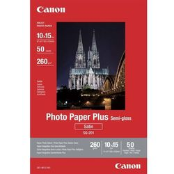 Papier fotograficzny CANON Photo Paper Plus Semi-gloss 260g 10 x 15 cm SG-201
