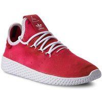 Damskie obuwie sportowe, Buty adidas - Pw Tennis Hu J CQ2301 Scarle/Ftwwht/Ftwwht