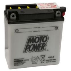 Akumulator motocyklowy Moto Power CB5L-B YB5L-B 12V 5Ah 65A EN P+