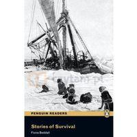 Książki do nauki języka, Stories of Survival + MP3 CD. Penguin Readers (opr. miękka)