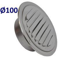 Pozostałe akcesoria do wentylacji, Kratka nierdzewna czerpnia wyrzutnia UELA Średnice od 100mm do 200mm. CZerpnia do Wentylacji i Rekuperacji Średnica [mm]: 100