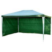 Namioty ogrodowe, PAWILON OGRODOWY 2x3m +2 ŚCIANKI NAMIOT HANDLOWY - Zielony