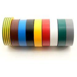 Taśma izolacyjna 19MM/20M kolorowa Singapur Jawal