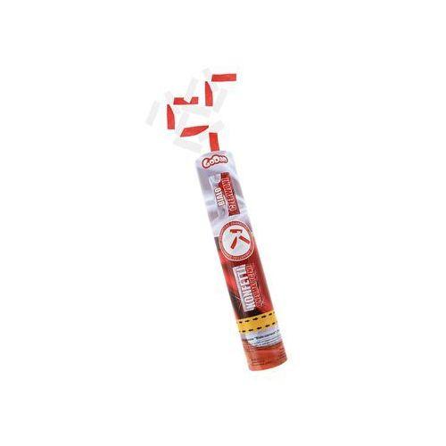 Pozostałe wyposażenie domu, Tuba strzelająca konfetti Biało-Czerwone dla kibica - 30 cm - 1 szt.