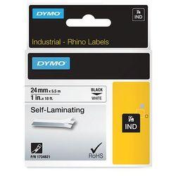 Dymo taśma do drukarek etykiet, S0773860, czarny druk/biały podkład, 5.5m, 24mm, RHINO