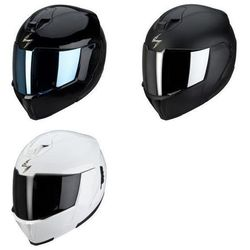 SCORPION KASK EXO-910 AIR SOLID BLACK, MATTE BLACK, WHITE