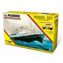 Polski statek Piłsudski set