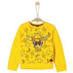 s.Oliver bluza chłopięca 104-110 żółty