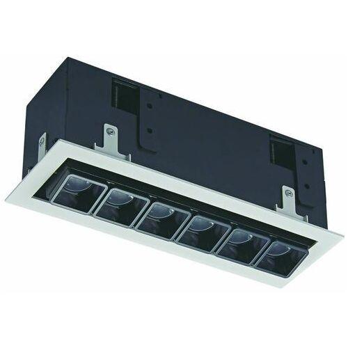 Lampy sufitowe, Italux Harper SL74109/12W S-WH listwa lampa sufitowa spot 1x12W LED biała/czarna
