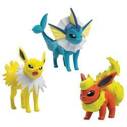 Pokemon - TOMY - komplet 3 figurek - T18661/T18524