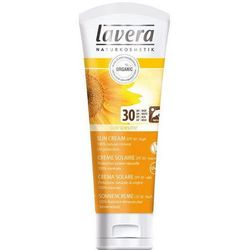 Lavera Miękkie Krem SPF 30 wrażliwa słoneczny (Krem) 75 ml