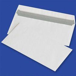 Koperty z taśmą silikonową OFFICE PRODUCTS, HK, DL, 110x220mm, 80gsm, 1000szt., białe