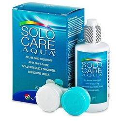 Płyn do soczewek SoloCare Aqua 90 ml