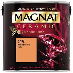 Farba Ceramiczna Magnat Ceramic C19 Pomarańczowy Szafir 2.5l